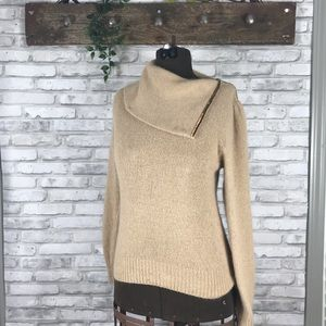 Vintage 80-90s FaBe Tan Gold Sweater size M